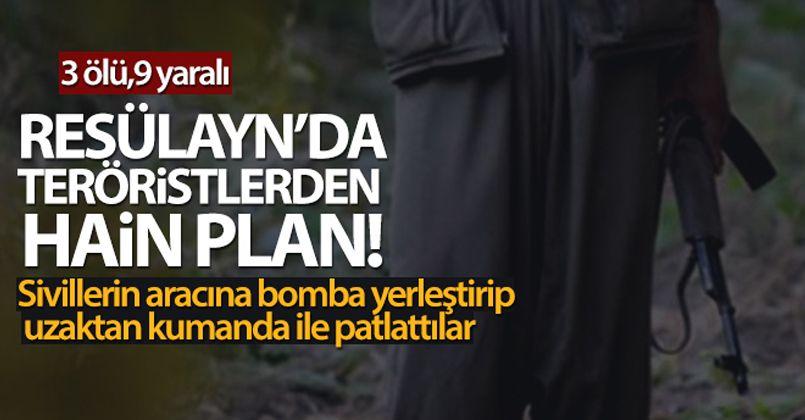 Resülayn'da teröristlerden hain plan