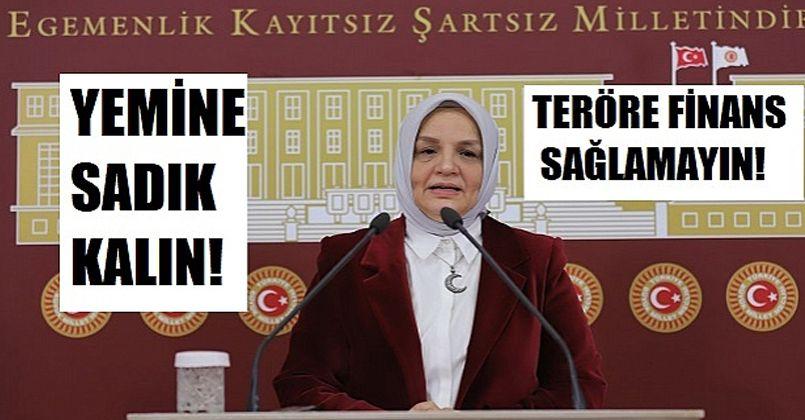 Ayşe Keşir HDP'li Vekillere Seslendi