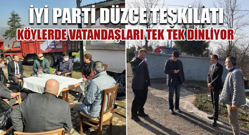 İYİ Parti Düzce Teşkilatı Ziyaretlerine Devam Ediyor