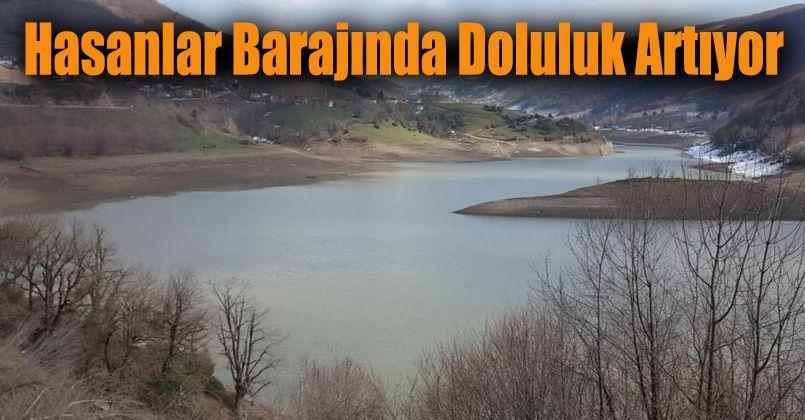 Hasanlar Barajında doluluk yüzde 31 oldu