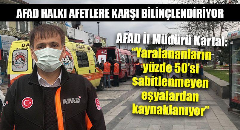 AFAD Halkı Afetlere Karşı Bilinçlendiriyor