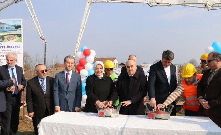 6 mahalleye hizmet verecek ASM merkezinin temeli atıldı