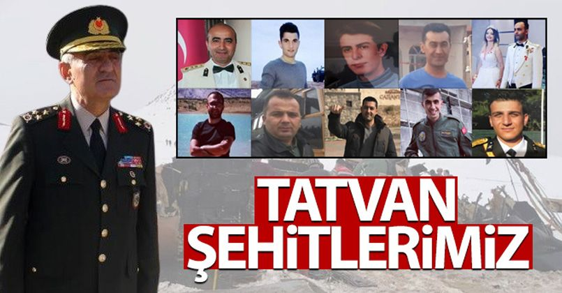 Bitlis'teki kazada şehit olan askerlerimizin kimlikleri belli oldu