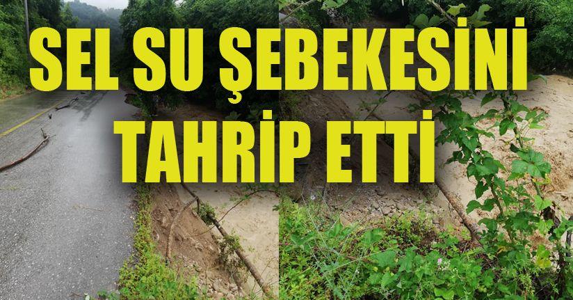 Paşalar ve Hasançavuş Köylerine Su Verilemiyor