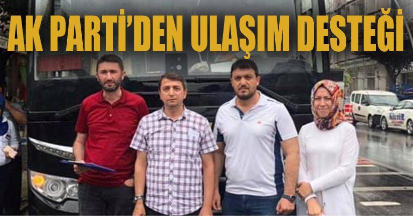 Ak Parti İstanbul'a Otobüs Kaldırdı