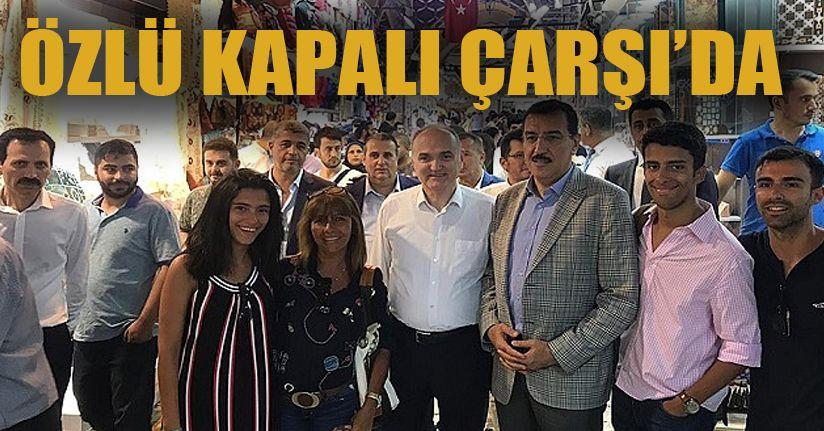 Faruk Özlü İstanbul'da Seçim Gezisinde