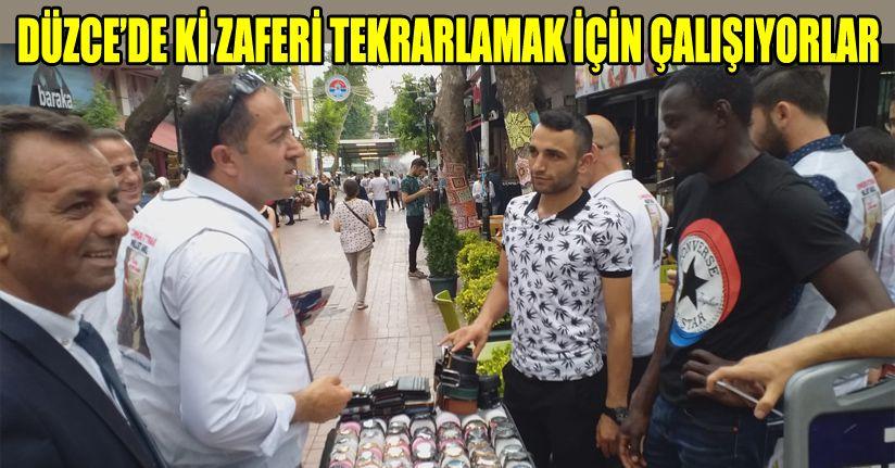 Caboğlu, Erdoğan ve Koloğlu son günde yıldırım için oy istediler
