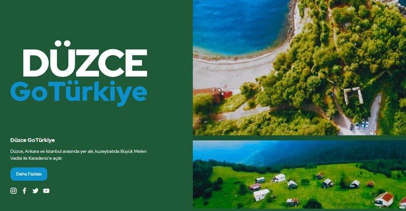 Düzce, uluslararası tanıtım platformu Go Türkiye'de yerini aldı
