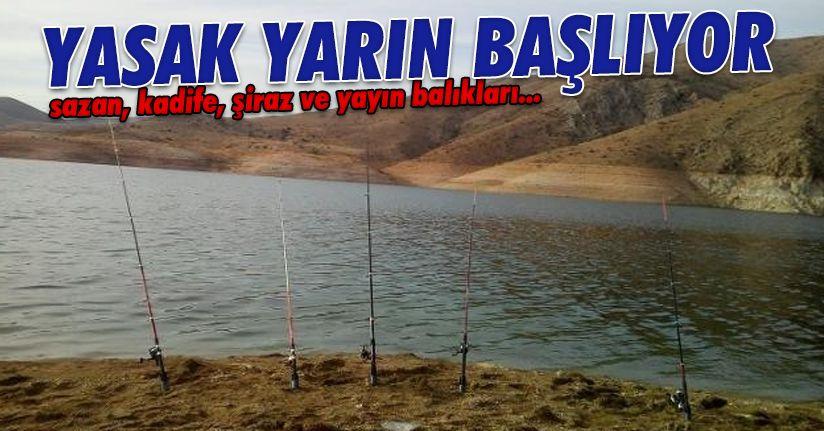 İç sularda avlanma yasağı başlıyor