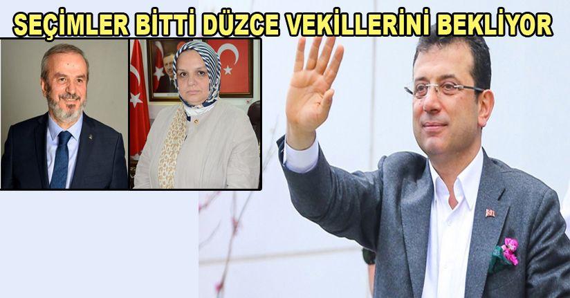 İstanbul Büyüksehir Belediye Başkanı İmamoğlu oldu