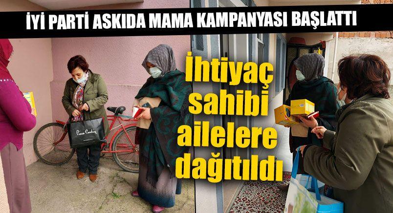 İYİ Parti Askıda Mama Kampanyası Başlattı