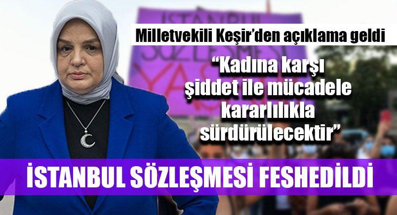 Ayşe Keşir'den İstanbul Sözleşmesi Kararı Sonrası Açıklama