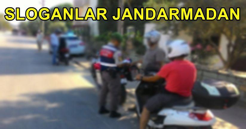 Jandarmadan Motosiklet Sürücülerine Uyarı