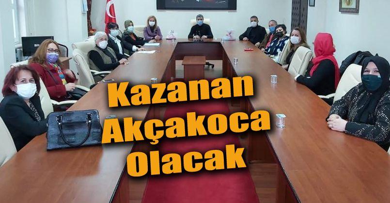 Akçakoca'da kadın kooperatiflerini güçlendirme toplantısı yapıldı