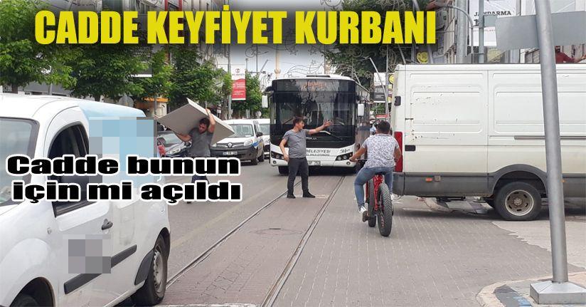 İstanbul Caddesi keyfiyet kurbanı