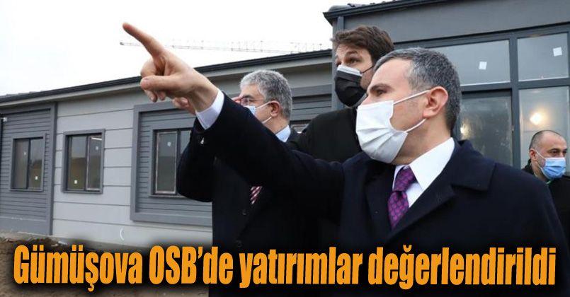 Gümüşova OSB'de yatırımlar değerlendirildi