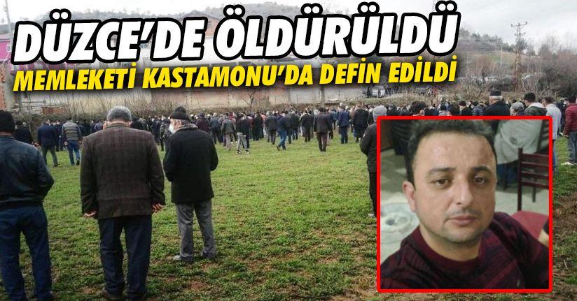 Saldırıda hayatını kaybeden adam toprağa verildi