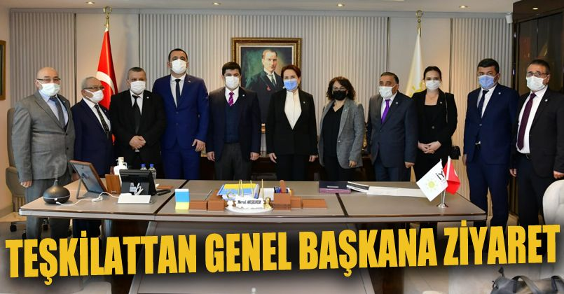 İyi Parti Düzce Teşkilatı  Meral Akşener'i ziyaret etti
