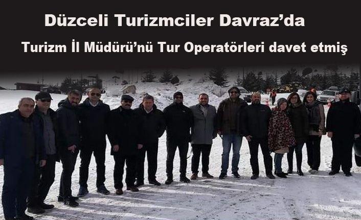 Operatörler Kış Lokasyonlarını İnceledi
