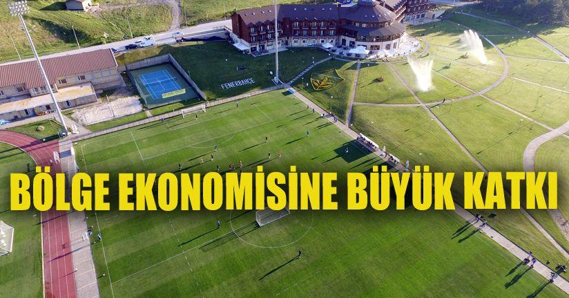 Bölge, kamp dönemi için futbol kulüplerinin gözdesi oldu