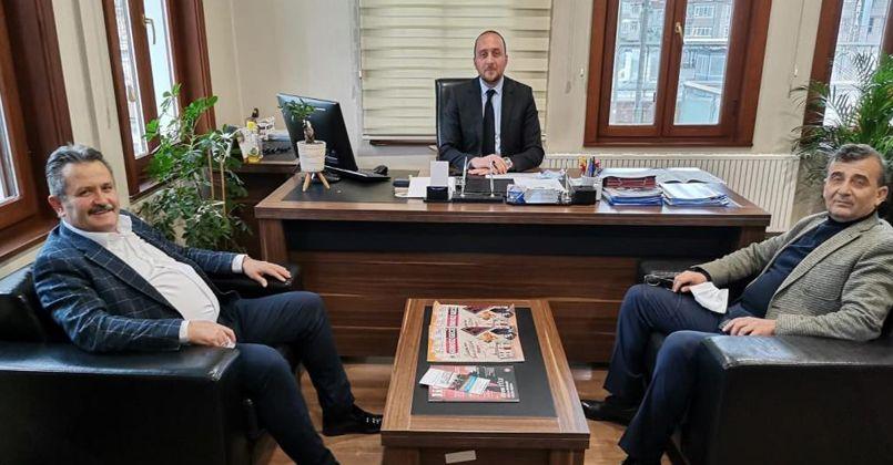 Başkan Koloğlu'ndan Aydoğan'a ziyaret