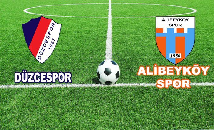 Düzcespor 1 - Alibeyköyspor 0