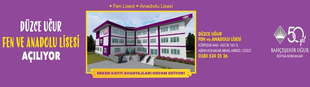 Düzce Uğur Okulları Yeni Binasında