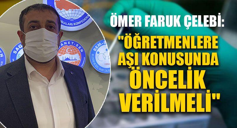 Ömer Faruk Çelebi: