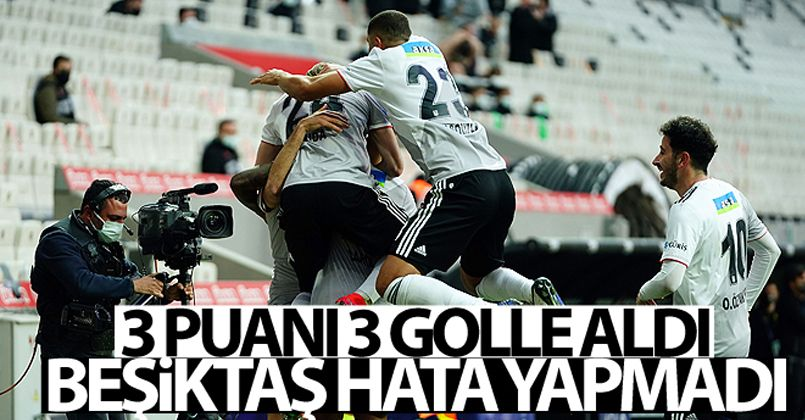 Beşiktaş: 3 - Aytemiz Alanyaspor: 0