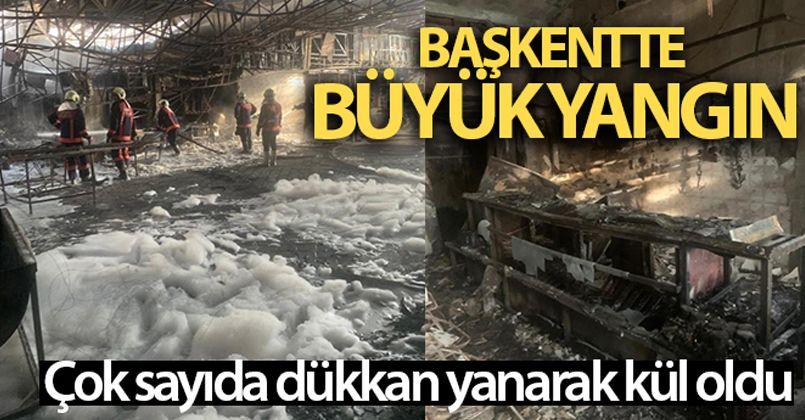 Başkent'te yangın!