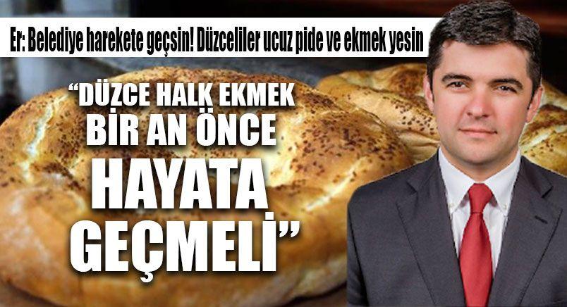 İYİ Parti'den 'Düzce Halk Ekmek' Önerisi