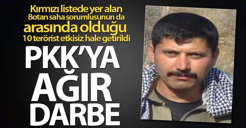 Şırnak'ta PKK'ya ağır darbe