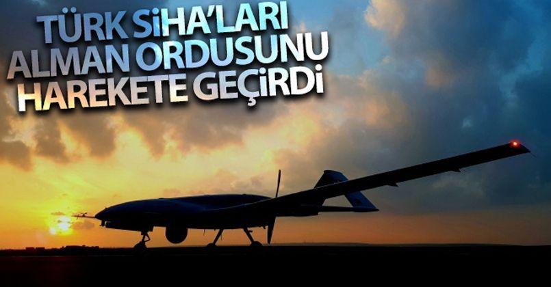Türk SİHA'ları Alman ordusunu harekete geçirdi