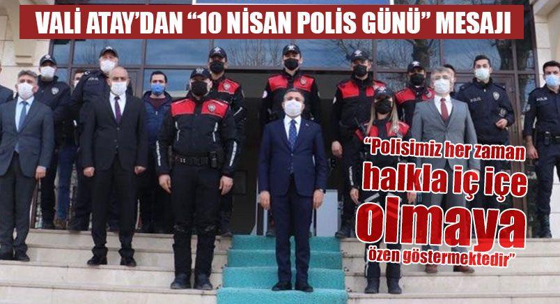 Düzce Valisi Atay Polislerin Gününü Kutladı