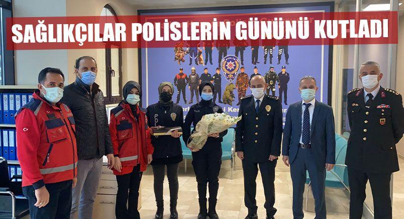 Sağlıkçılar Polislerin Gününü Kutladı