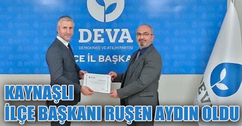 DEVA Partisi Düzce'de teşkilatlanmasını sürdürüyor