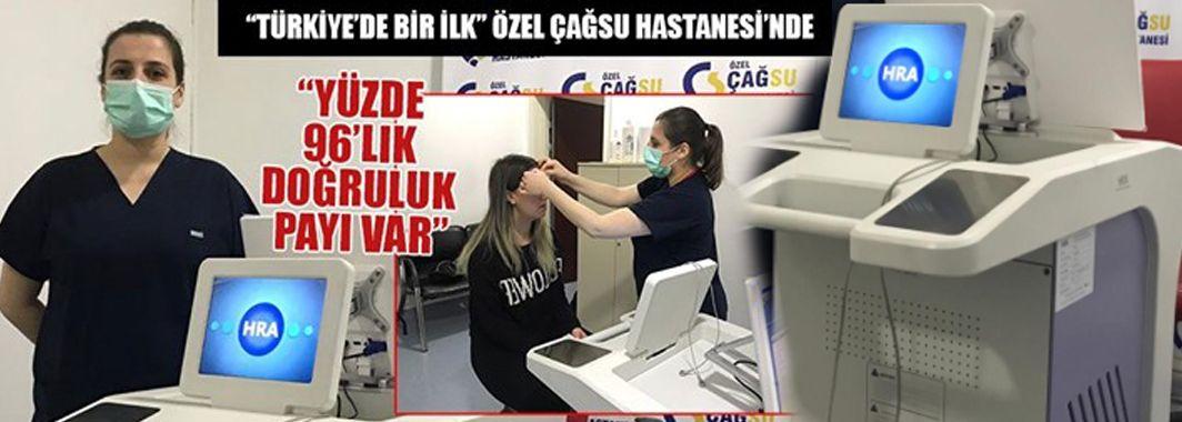 Türkiye'de Bir İlk Özel Çağsu Hastanesi'nde
