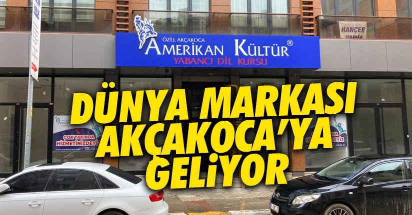 Dünya markası Akçakoca'ya geliyor