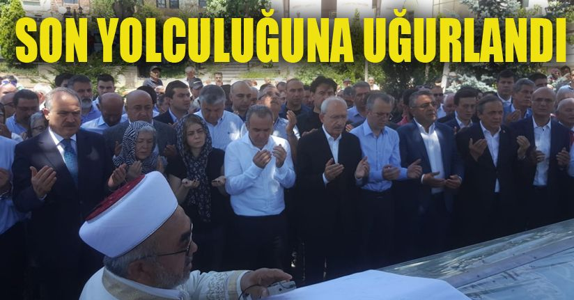 Cenazeye Kılıçdaroğlu'da Katıldı