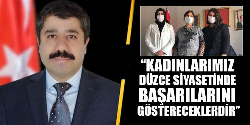 Hasan Günden Encümen Üyelerini Tebrik Etti