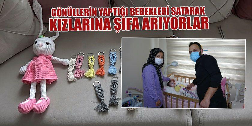 Tek İstekleri Kızları Zeynep Sare'yi Tedavi Ettirebilmek