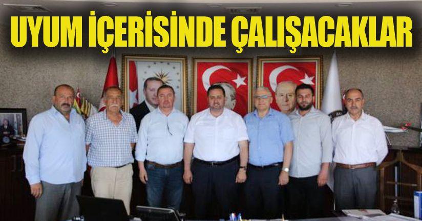 MHP'li Üyeler Akçakoca'da