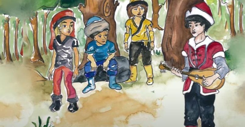 Dede korkut hikayeleri çocuklarla buluşuyor