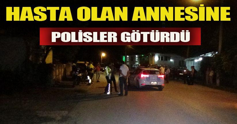 Düzce polisi gece huzur için sokağa çıktı