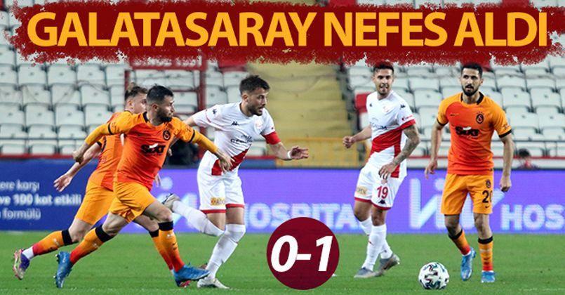 Galatasaray'dan kritik 3 puan