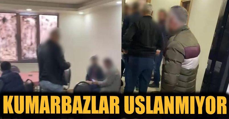 Yasağı deldiler, kahvehanede oyun oynarken polise yakalandılar