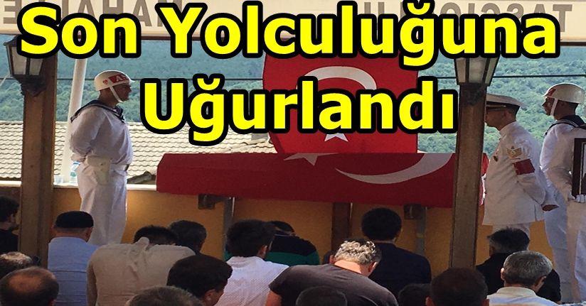 UZMAN ÇAVUŞ TOPRAĞA VERİLDİ
