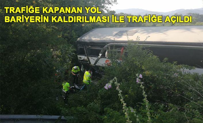 TEM Otoyolu'nda feci kaza: 1 ölü, 7 yaralı