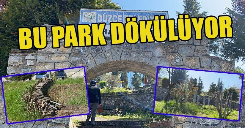 Antik şehir Konuralp'e bu park yakışmıyor