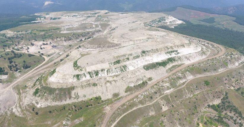 Maden sahalarından 1 milyon fidan fışkıracak